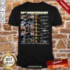 Pittsburgh Steelers Football 88th Anniversary Thank You For The Memories Signatures Shirt- Design By Proposetees.com