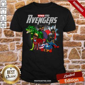 Marvel Avengers Rottweiler Rvengers Shirt