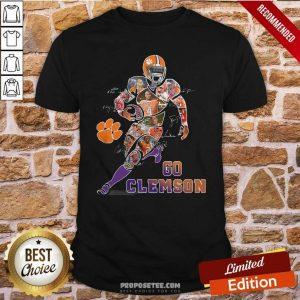 Funny Players Go Clemson Tigers Football Signatures Shirt - Design by proposetees.com