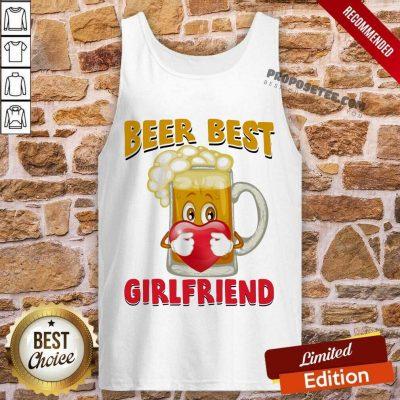 Beer Best Girlfriends Heart Tank-Top
