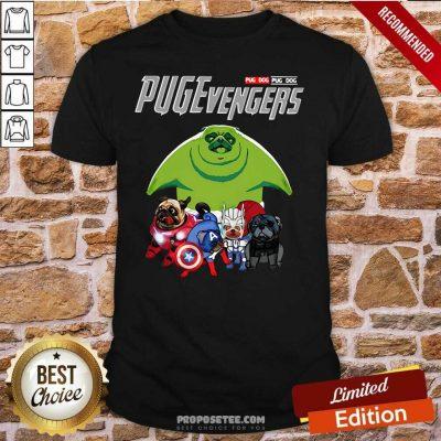 Pug dog Marvel Avengers Pugevengers Shirt