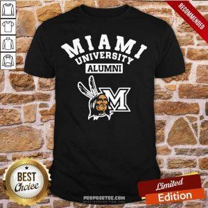 Miami University Alumni Shirt- Design By Proposetees.com