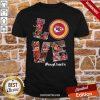 Premium Love Kansas City Chiefs My Chiefs Signatures Shirt - Design by proposetees.com
