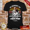 In Memory Of Chester Bennington March 20 2017 Linkin Park Signature Vintage Retro Shirt- Design By Proposetees.com