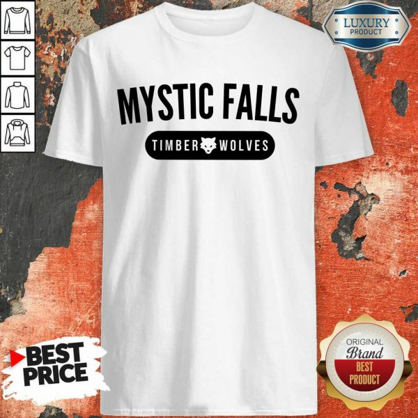 Hot Vampire Diaries Mystic Falls Timberwolves Shirt