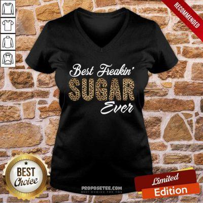 Best Freakin Sugar Ever V-neck