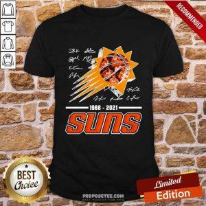 Basketball Phoenix Suns 1968 2021 Signature Shirt