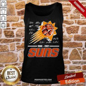 Basketball Phoenix Suns 1968 2021 Signature Tank Top