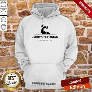 Jehovah's Fitness Gym Catholics With Attitude Hoodie
