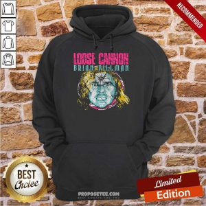 Loose Cannon Brian Pillman Shattered Hoodie
