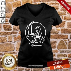 Los Angeles Clippers NBA Basketball Champs 2021 V-neck