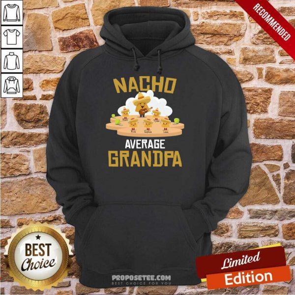 Nacho Average Grandpa Hoodie