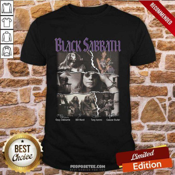 Nice Black Sabbath Shirt